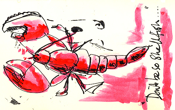 Lobster by Dan Morelle