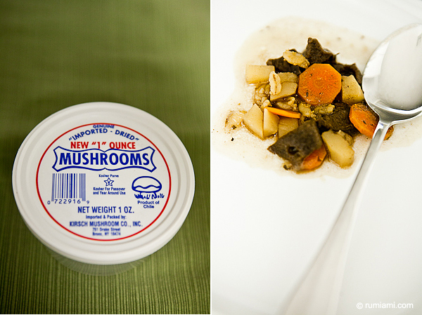 Mushrooms from Publix, Miami Beach